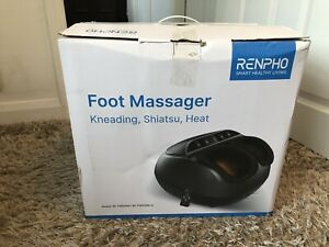 RENPHO Foot Massager with Heat, Shiatsu Massager Deep Kneading with Remote