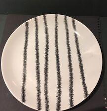 """KPM FARSO Dinner Plate Black White Denmark 10"""""""