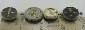 Lot of 4 pcs Seiko Watch Non Working watch Movement For Parts & Repair M-9481