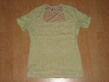 Top/Shirt, Gr. 36/38,Spitze,Pastelgrün/beige ,Kurzarm ,Polyester,von C&A Yessica