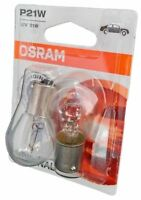 P21W OSRAM Original Spare Part 2st. 12V  21W Blister 7506-02B