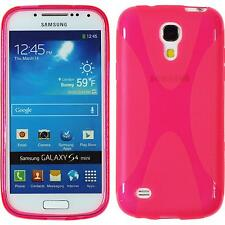 Coque en Silicone Samsung Galaxy S4 Mini X-Style rose chaud