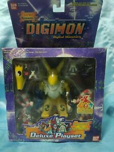 DIGIMON SEASON 3 DELUXE PLAYSET RENAMON Complete