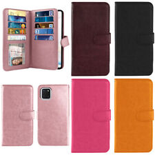 """For Samsung Galaxy Note 10 Lite N770 6.7"""" Flip Wallet Card Holder TPU Case Cover"""
