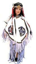 Künstlerpuppe Indianerin Porzellan 55cm