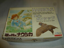BOXED NAUSICAA TSUKUDA HOBBY MODEL KIT NO 3 GUNSHIP OF THE VALLEY OF WIND 1:72 >