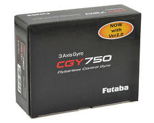 FUTABA  CGY750 2.0 Flybarless 3 AXIS FLYBARLESS GYRO WITH GOVERNOR FUTM0836 !!