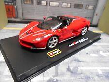 FERRARI LaFerrari La Ferrari aperta rot red Supersportwagen NEU Bburago 1:43