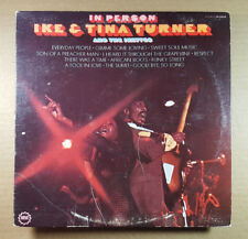 IKE & TINA TURNER *In Person* Orig Vintage 1969 MINIT Records -DG-LP