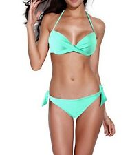 SeXy Swimwear Women's Komene 2-Piece Swimsuit Bikini Bathing Set Padded Bra - SM