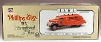 Marx Phillips 66 1941 International Airflow Toy Tanker Truck With Lights Bank