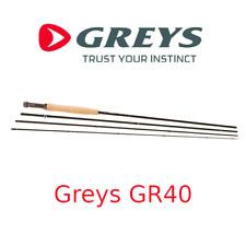 Canne da pesca a mosca trota torrente Greys GR40 rod in carbonio 4 pezzi trout