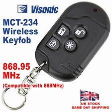 Visonic Wireless Remote Keyfob for PowerMax System MCT-234 868.95MHz - UK Seller