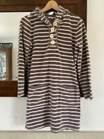 Boden Cotton Towelling Beach Robe Size Medium 10/12
