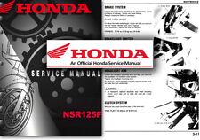 Honda NSR125F Service Workshop Repair Shop Manual NSR125 F JC20 NSR 125
