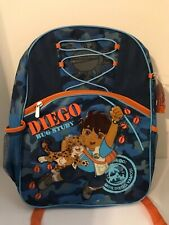 Nickelodeon Jr. Dora and Diego Bug Study Explorer School Backpack book bag New