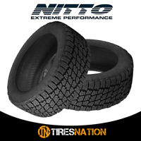 (2) New Nitto Terra Grappler G2 295/70/17 121/118R All-Terrain Tire