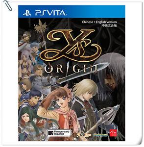 PSV Ys Origin 伊蘇:始源 中英日文版 SONY PlayStation VITA Falcom RPG Games