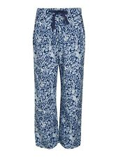 JOHN LEWIS BLUE ANIMAL PRINT PYJAMA BOTTOMS. SIZE 14. NEW WITH TAG