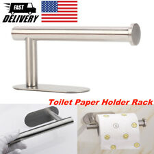 Toilet Paper Holder Rack Stainless Steel Tissue Roll Stand Self Adhesive New