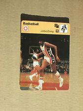FICHE CHAMPION BASKETBALL NBA JULIUS ERVING NEW YORK NETS  USA 1977