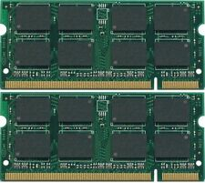 New 2GB 2x1GB DDR2 PC4200 SODIMM PC2-4200 Laptop MEMORY
