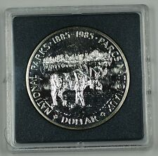 1985 Canada One Dollar Commemorative Proof-Like Coin Centennial of National Park