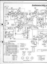 Saba Service Schaltplan für Breisgau 7 automatic