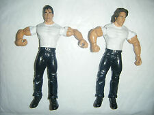 DEUCE E DOMINO JAKKS AGGRESSION TAG TEAM ACTION FIGURE WRESTLING WWE