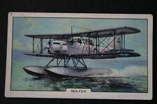 Fairey Sea Fox  Royal Navy Reconnaissance Sea Plane   Vintage Card