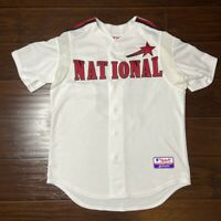 2004 MLB All Star Game Nationals Moises Alou Baseball Jersey Men's Medium