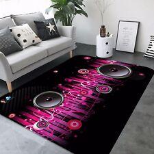 3D Musik 46 Rutschfest Teppich Matte Raum Matte Qualität Elegant Teppich DE