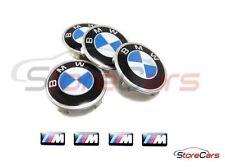 TAPAS LLANTAS BMW - 68MM - 4 UNIDADES + 4 PEGATINAS M PARA LLANTAS - E46 E90 M3