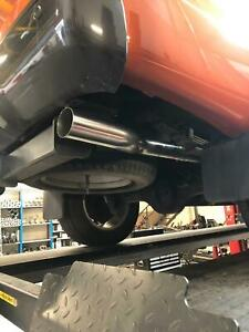 "FORD RANGER WILDTRAK  3"" STAINLESS STEEL CAT BACK SYSTEM"