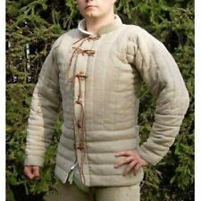 New Gambeson Medieval-Reenactment Camel Super Amazing Fancy Dress arming jacket