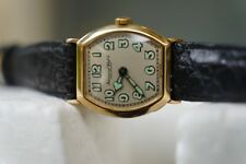 Vintage IWC Military Style 18K SOLID GOLD Swiss Movement Watch with Provenance!