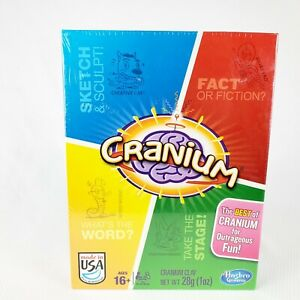 HASBRO Cranium Clay Dice Game 2 Team Competitive Action A5225 Sealed