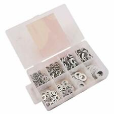200 Piece Assorted Washers Threaded Fastener Screws Nuts Metal Mechanic DIY