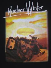 NUCLEAR WINTER SNOWBOARD ATOMIC BOMB SNOW t shirt L skateboard x games video