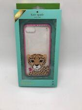 $45 iPhone 7Case Kate Spade BNWT  Jeweled Cheetah Rubber Comold Case  KS1