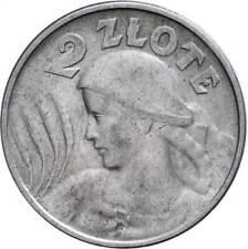 62769) 2 Zloty 1924 Philadelphia KM Y16 ss