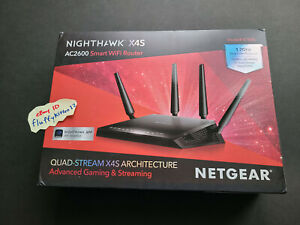 NETGEAR Nighthawk X4S R7800 Smart WiFi Router AC2600 5GHz Gaming Dual Core