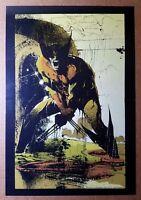 Wolverine Logan X-Men Marvel Comics Poster by Bill Sienkiewicz