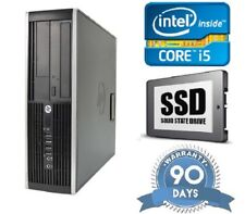 Cheap Fast HP Elite 8300 Quad Core i5 3.2Ghz 128GB SSD 8Gb Windows 10 pc desktop