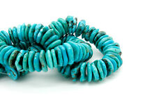 Natural Turquoise Beads, Rough Flat Nugget Chip Freeform Gemstone Beads