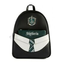 Harry Potter Slytherin Backpack With A Purse And A 2d Tie Brand New