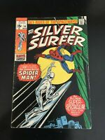 Silver Surfer #14, FN- 5.5, Spider-Man