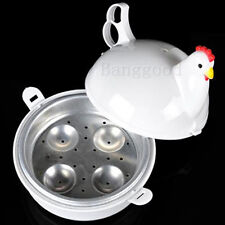Chicken Shaped Microwave 4 Eggs Boiler Cooker NOVELTY Kitchen Cooking Appliances