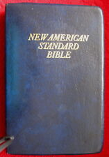 Vntge New American Standard Bible World Bible Publishers Red letter Edition 1973