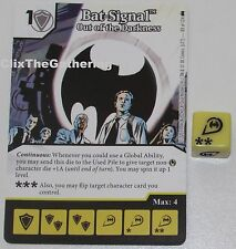 BAT-SIGNAL: OUT OF THE DARKNESS 83/124 Batman Dice Masters DC Rare
